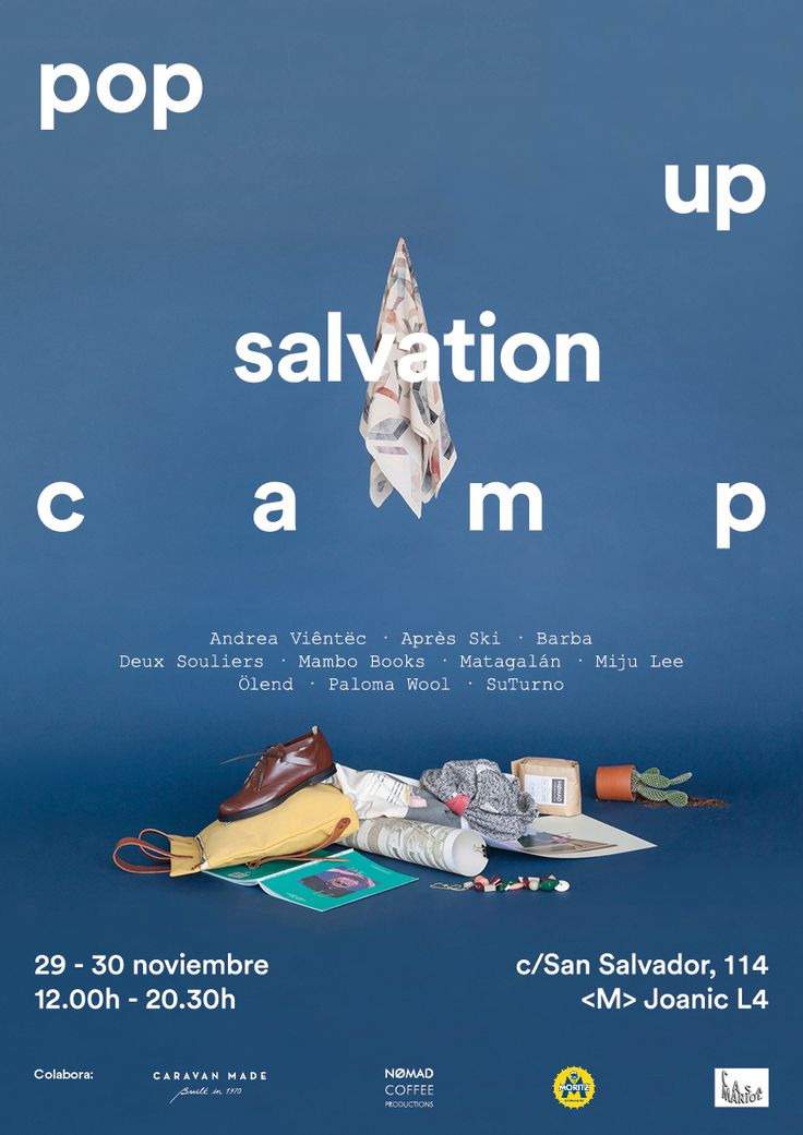 Save the date! #popup #salvationcamp
