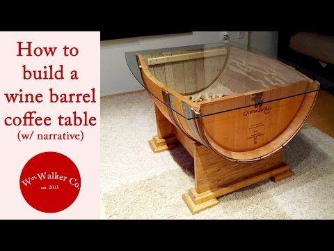 33 best wine barrel crafts images on pinterest