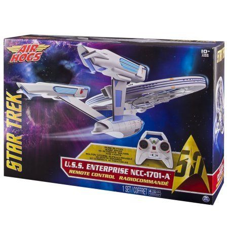 Enterprise Remote Control Drone with Lights and Sounds, 2.4 GHZ, 4 Channel Air Hogs, Star Trek U.S.S >>> Want additional info? Click on the image.