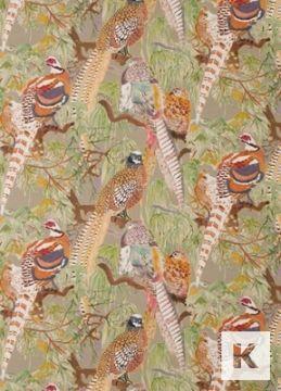 Mulberry - Game Birds Linen