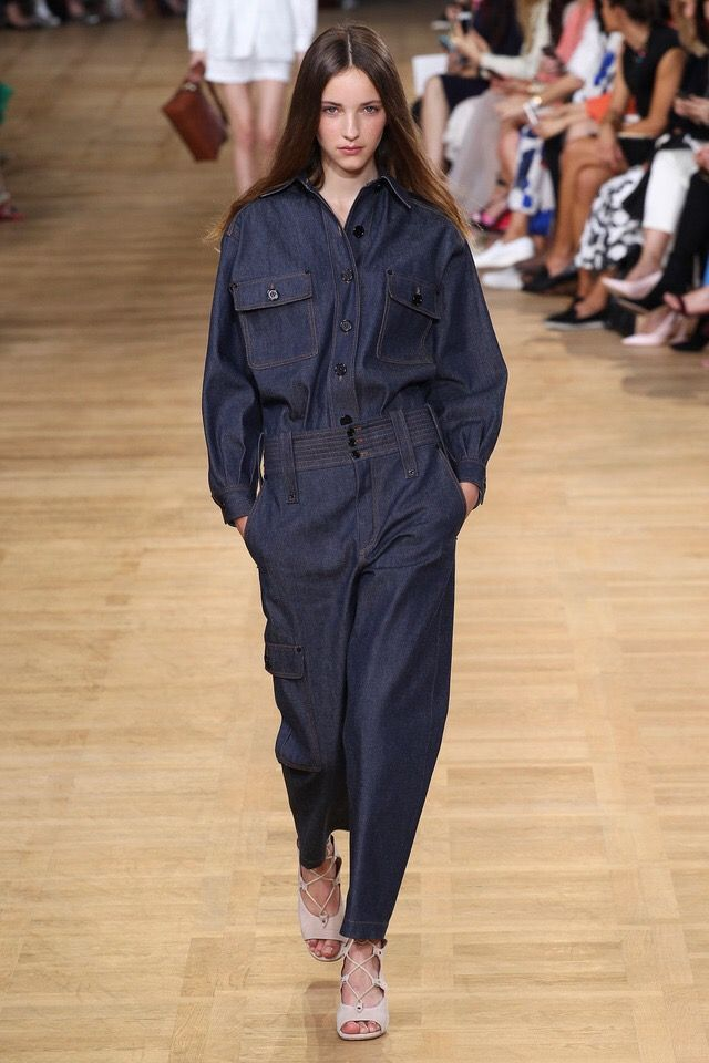 Of all the denim overalls I choose Chloé's SS'15