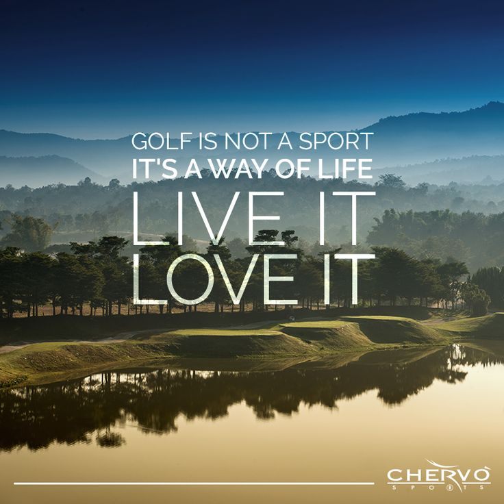 Live, love, golf!