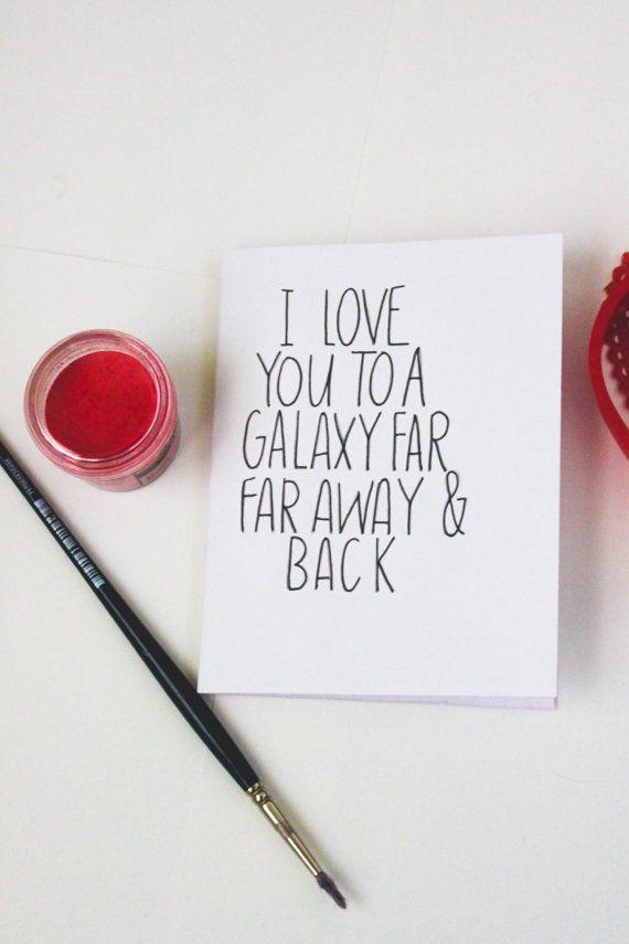 Star Wars Inspired Handmade Greeting Card by gingerlyjevelyn #lettering…