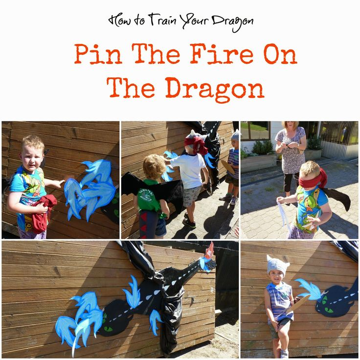 A Little Slice of Home: How to Train Your Dragon: Pin the Fire on the Dragon