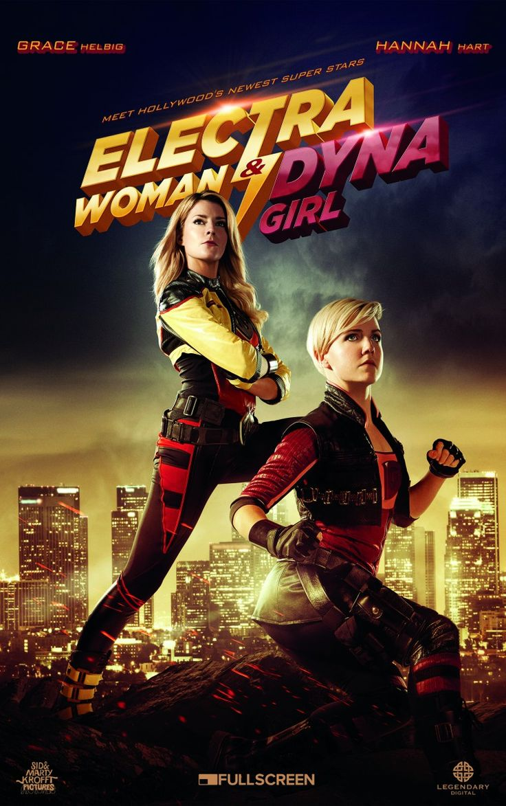 Grace Helbig & Hannah Hart Star as Electra Woman and Dyna Girl in Remake of Classic TV Show