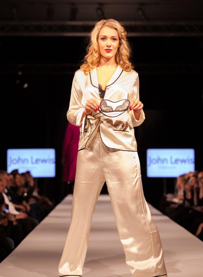 Stunning silky pyjamas. #SAFW14