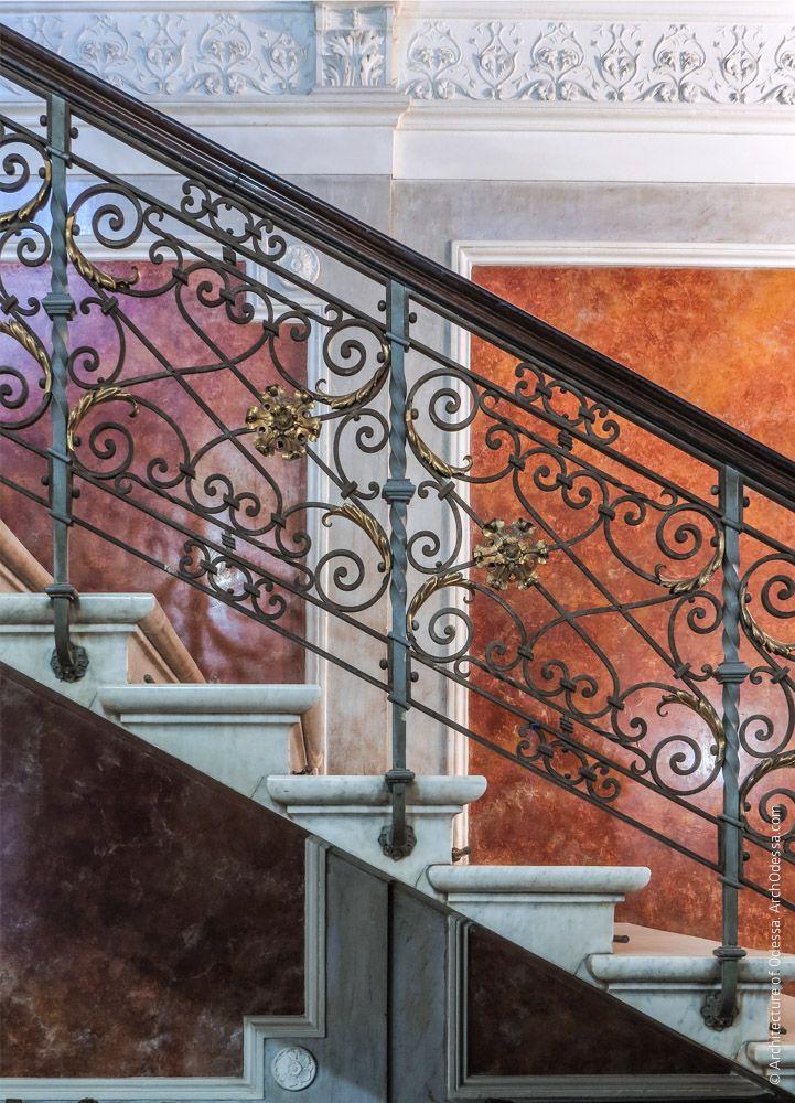Старый дворец. Вестибюль, аванзал ипарадная лестница