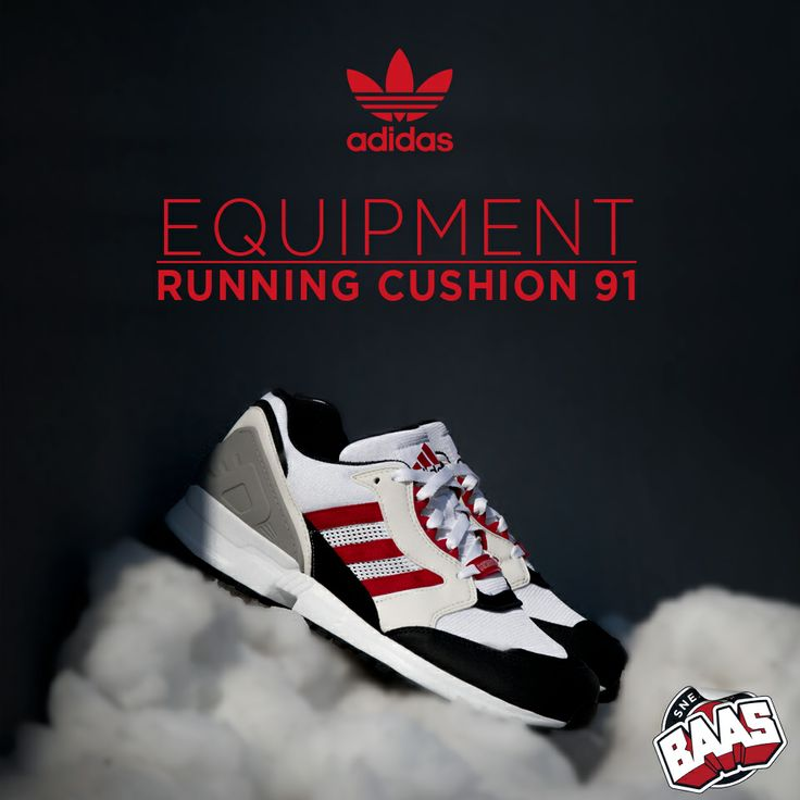 Adidas Equipment Running Cushion 91  Code: D67568  www.sneakerbaas.nl