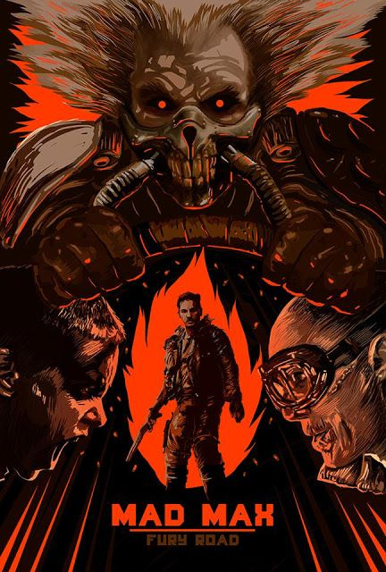 The Geeky Nerfherder: Cool Art: 'Mad Max: Fury Road' by Johnny L