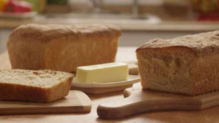 See how to make delicious oven-baked sandwich bread.