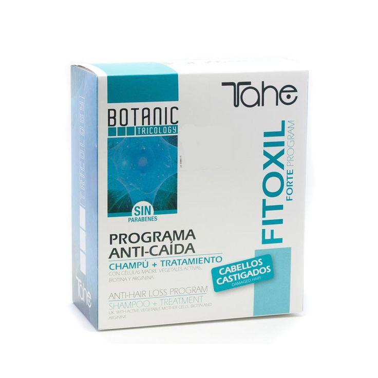 tahe botanic tricology fitoxil forte program anticaida