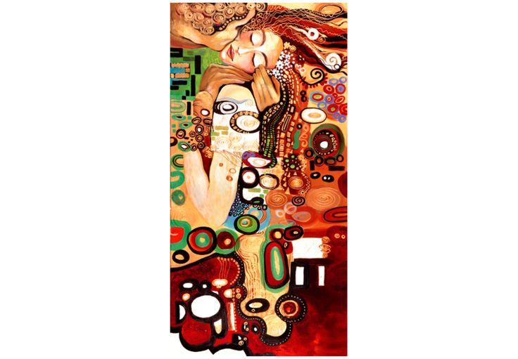 Obraz malowany 60x120 Abstrakcja 41356 - artgeist - Obrazy akrylowe #obraz #painting #art