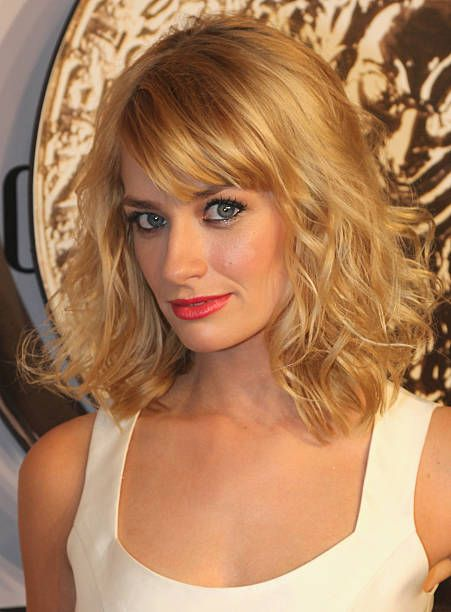 Beth Behrs attends the American Theatre Wing's 68th Annual Tony Awards at Radio City Music Hall on June 8 2014 in New York City
