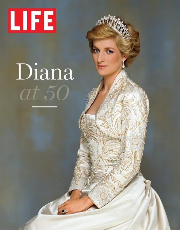 Vintage diana life magazine alemania