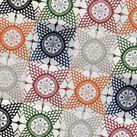 """Holi"" Ocean & Merchant wall tiles - colourful kaleidoscope design. Available from www.eurotiles.com.au"