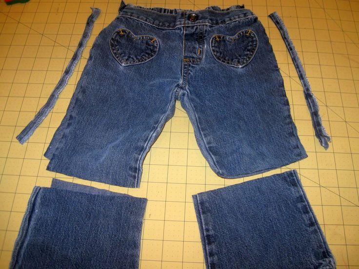 cool 50 Идей, как из старых женских джинс сделать модные шорты — Пошаговые фото инструкции