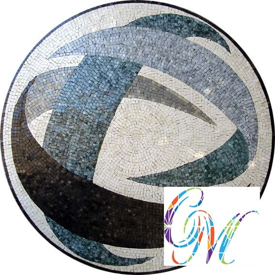 MD064 Marble Mosaic Medallion