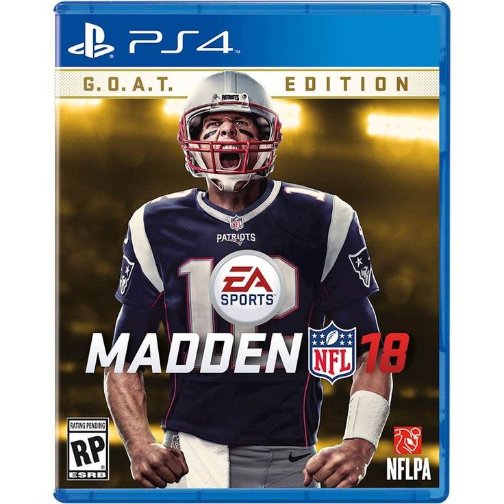 Just added to PlayStation 4 on Best Buy : Madden NFL 18 G.O.A.T. Edition - PlayStation 4