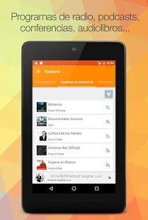 iVoox Podcast y Radio: miniatura de captura de pantalla