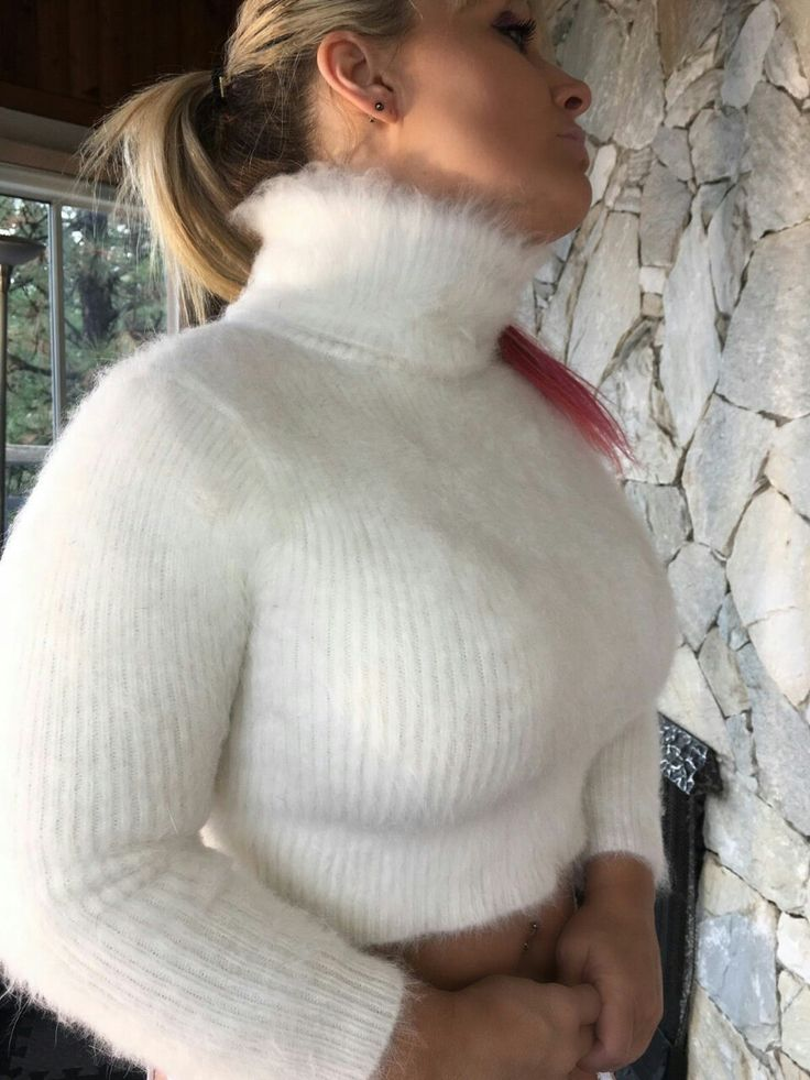 Sex in fuzzy sweater