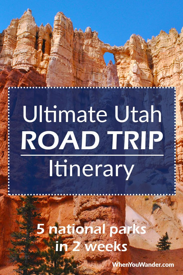 Utah Road Trip Itinerary: Mighty 5 National Parks