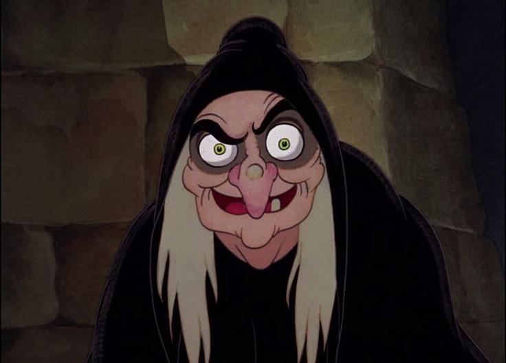 Bruxa Má - Branca de Neve.