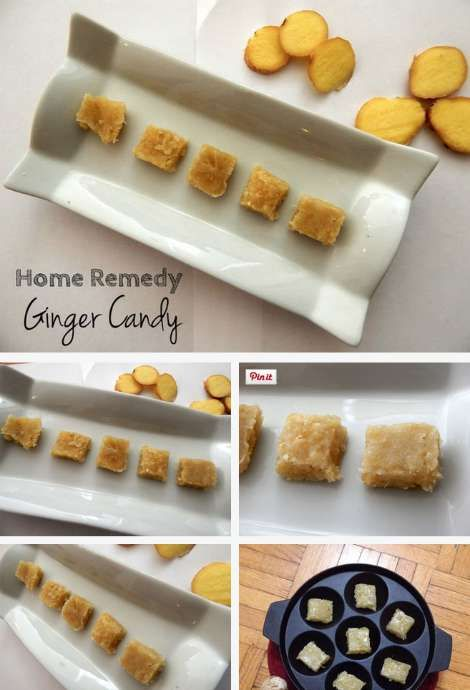 How To Make Ginger Candy For Nausea and Indigestion