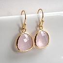 Framed Stone Earrings  £25  Ashiana for Hurleyburley