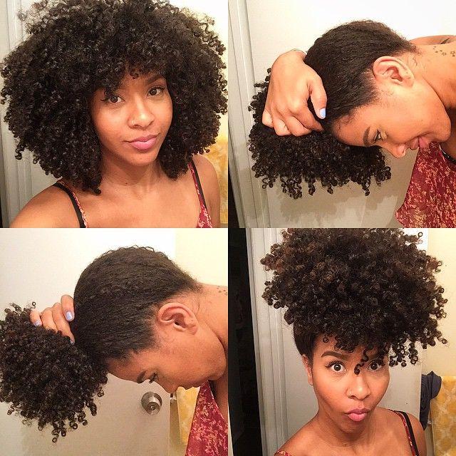 My hair got BUN!!