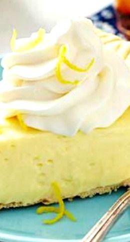 Lemon-Cream Cheese Pie Recipe ~ So good!