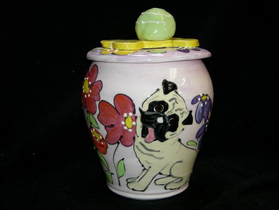 Pet memorial Urn for pet cremains on Etsy, $150.00