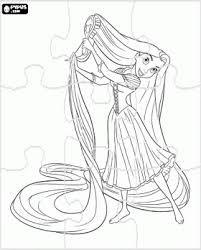 kleurplaten disney prinsessen rapunzel zoeken