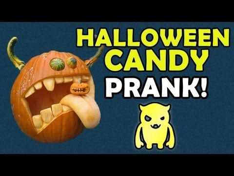 halloween prank man with chainsaw