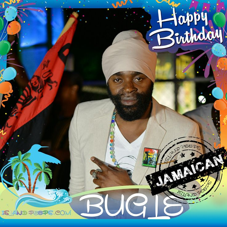 Happy Birthday Bugle!!! Jamaican born Dancehall Recording artist!!! Today we celebrate you!!! @BugleMusic #Bugle #islandpeeps #islandpeepsbirthdays #RastaParty #Dancehall #Reggae #Jamaica