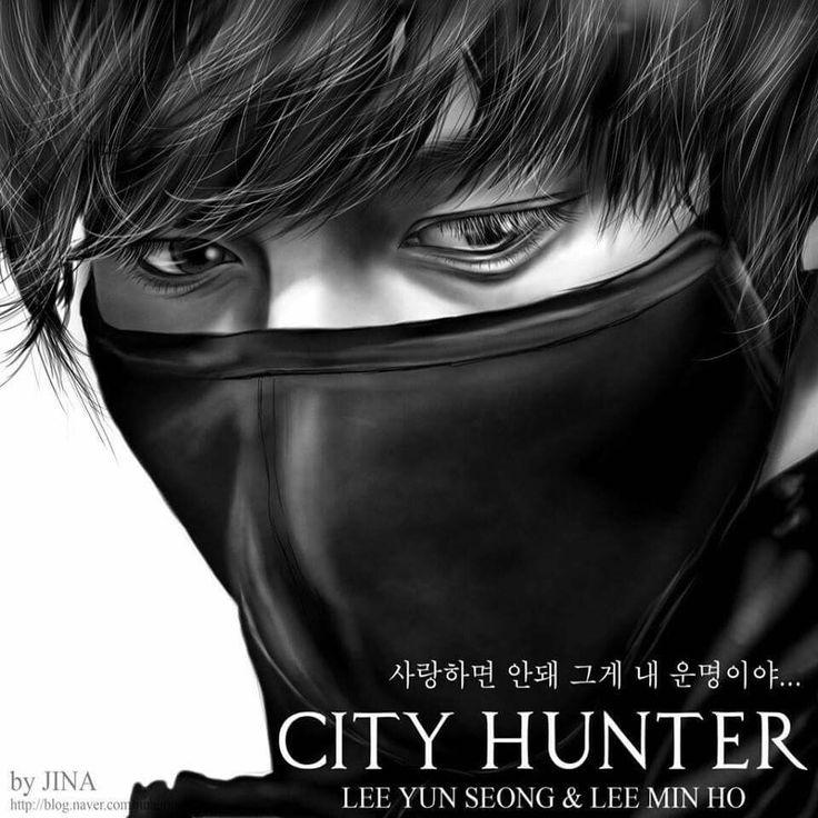 Best 75 City Hunter Fan Art Images On Pinterest