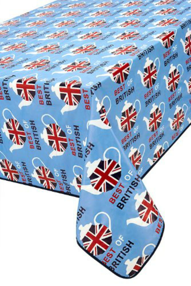 Your Kitchen Needs You 52 X 70 Inch Best Of British PVC Oblong Tablecloth