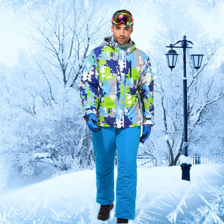 Winter Ski Suit Cheap Ski Suit Snowboarding Suits Snow Suit Men Ski Clothing Men Colorful Outdoor Jacket Buy-direct-from-china
