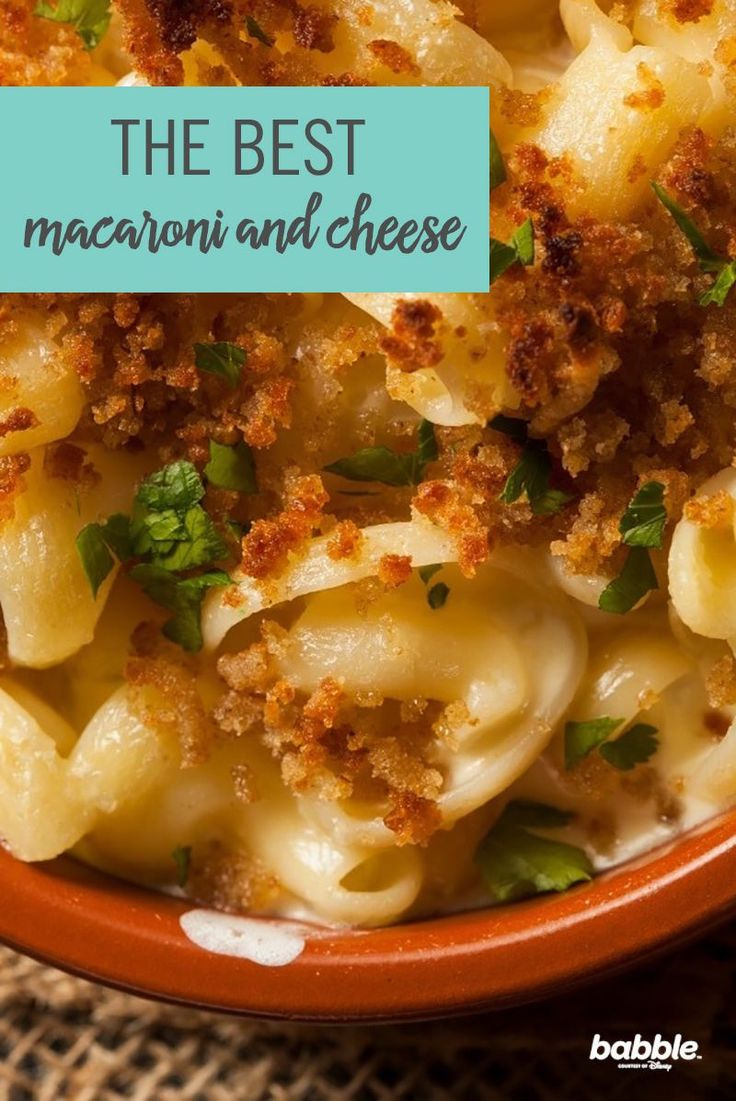 The Best Macaroni and Cheese I've Ever Made