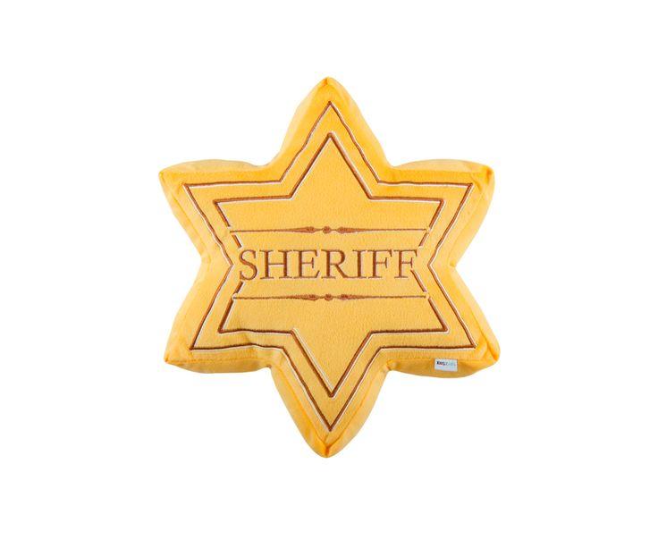 Harvey Norman - Sheriff Badge Cushion - Kas Kids