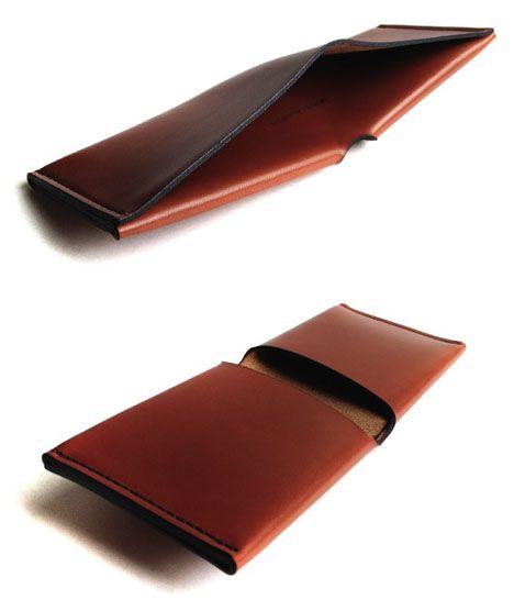 Lambert's Uni-Fold Wallet  Wickett + Craig Tannery