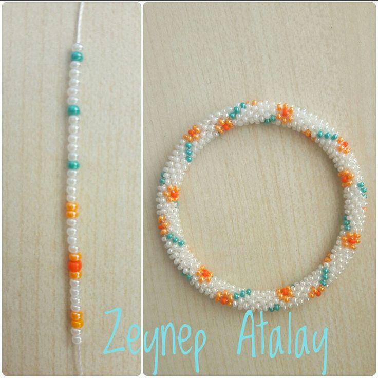 #zeynepatalay. Sandperlenarmband, gehäkelte 6s. Um 6 Armband.   – Zeynep Atalay Bracelet