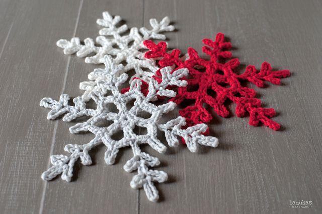 Snowflake Crochet Pattern