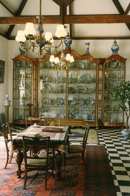 ♥ Delft, Netherlands - Porcelain Museum
