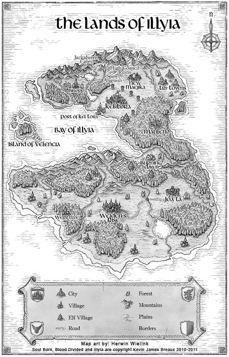 Image detail for -glad I can post some finished work again. The map is for a fantasy ...
