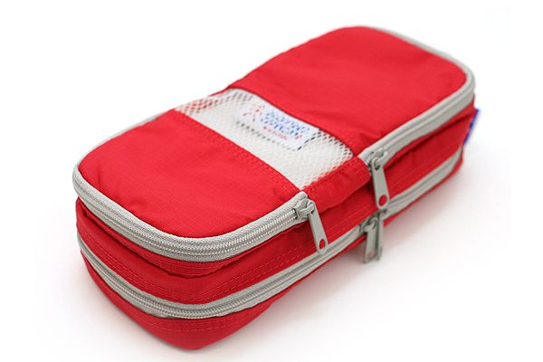 Nomadic PE-08 Easy Classification Pencil Case - Red