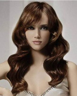 Wavy Hairstyles For A Round Face Hair Pinterest