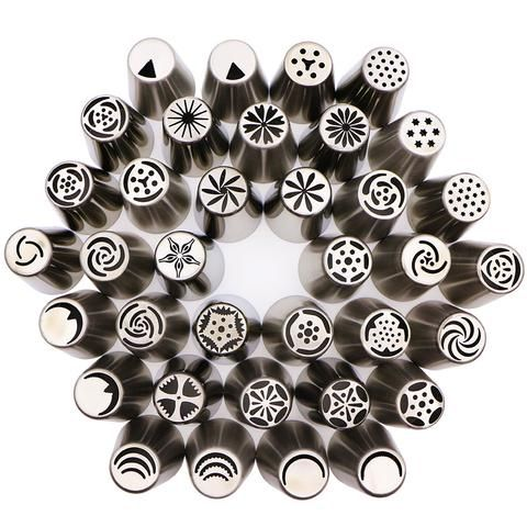 Stainless 36 pieces for icing cake