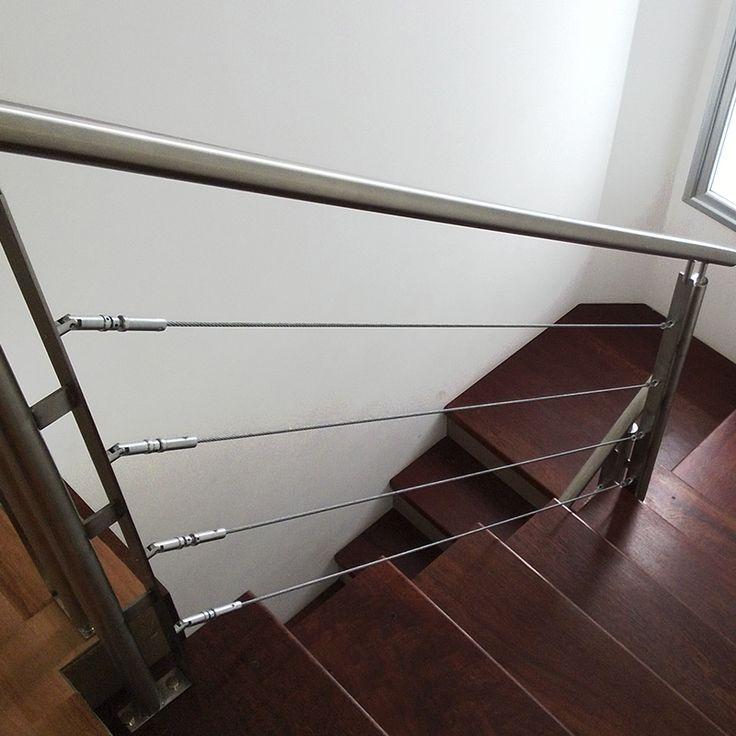 Las 25 mejores ideas sobre barandas para escaleras en - Barandas de escalera ...