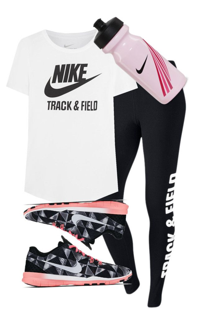 """""""Nike Track And Field"""" by alannah-reilly ❤ liked on Polyvore featuring NIKE"""