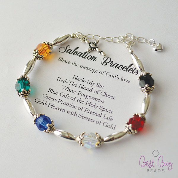 Salvation Bracelet kits ready to go! Just in time for Easter!